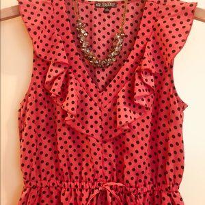 5e83313a5b8 depop Dresses - DePop summer dress red orange and polkadots